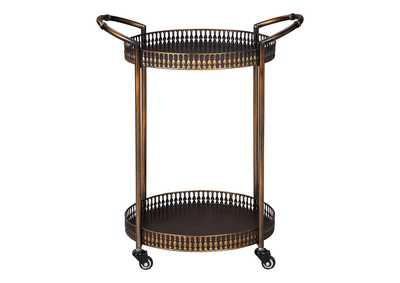 Image for Clarkburn Brown Bar Cart