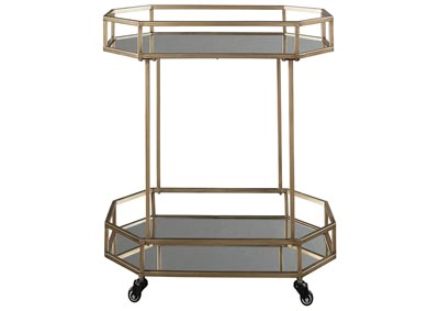 Image for Daymont Gold Bar Cart