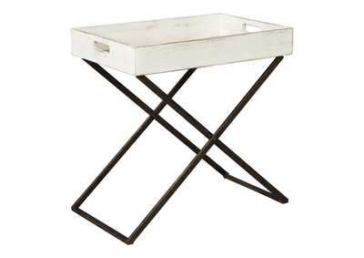 Image for Janfield Antique White Accent Table