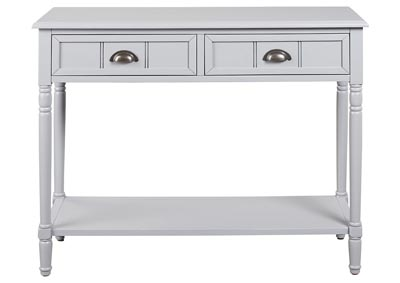 Goverton Gray Console Sofa Table