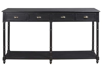 Image for Eirdale Black Console Sofa Table