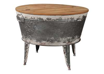 Shellmond Two Tone Accent Cocktail Table,Signature Design By Ashley