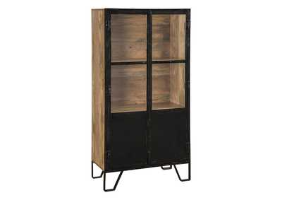 Image for Gabinwell Black/Brown Bookcase