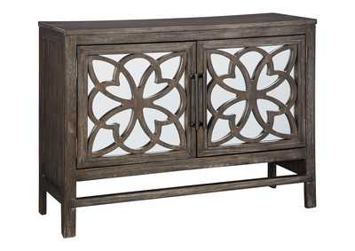 Image for Alvaton Antique Brown Accent Cabinet