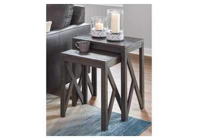 Image for Emerdale Gray Accent Table (Set of 2)
