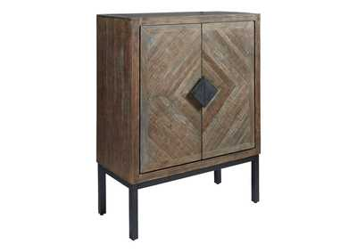 Premridge Antique Gray Bar Cabinet