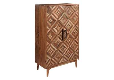 Image for Gabinwell Two-Tone Brown Accent Cabinet