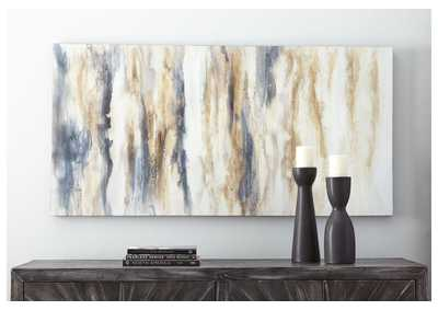 Joely Blue/Tan Wall Art,Signature Design By Ashley
