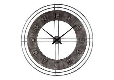 Image for Ana Sofia Antique Gray Wall Clock