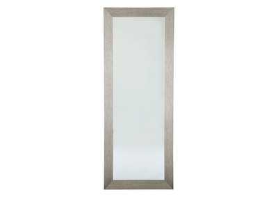 Image for Duka Silver Finish Accent Mirror