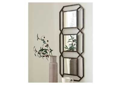 Image for Savane Gold Accent Mirror