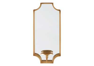 Image for Dumi Gold Finish Wall Sconce