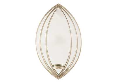 Image for Donnica Silver Finish Wall Sconce