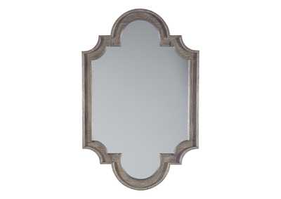 Image for Williamette Antique Gray Accent Mirror
