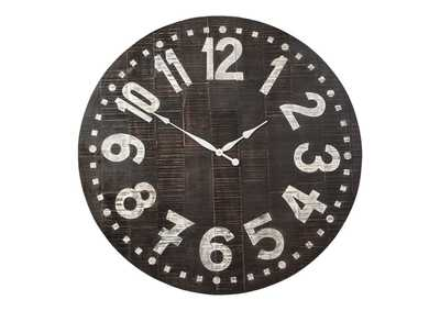 Image for Brone Black/White Wall Clock
