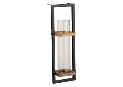 Image for Colburn Natural/Black Wall Sconce