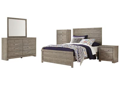 Image for Culverbach Full Panel Bed w/Dresser and Mirror