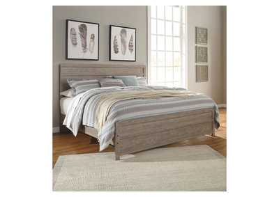 Image for Culverbach Gray King Panel Bed