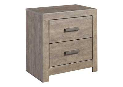 Image for Culverbach Gray Two Drawer Nightstand