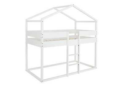 Image for Flannibrook Twin over Twin House Loft Bed