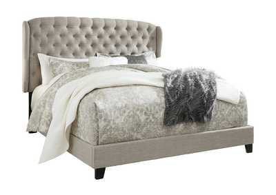 Image for Jerary Gray Queen Upholstered Bed