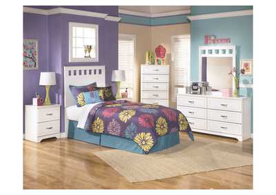 Image for Lulu Twin Panel Headboard, Dresser & Mirror