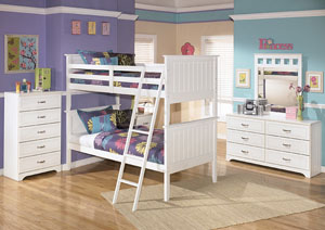 Image for Lulu Twin/Twin Bunk Bed