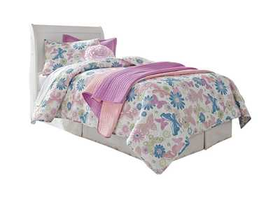 Image for Anarasia Twin Sleigh Headboard