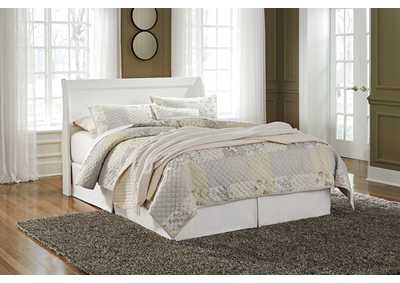 Anarasia White Queen Sleigh Headboard