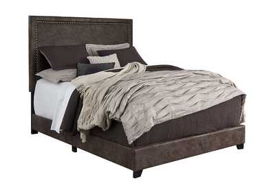 Image for Dolante Brown King Upholstered Bed