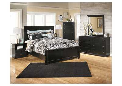 Image for Maribel Queen Panel Bed, Dresser & Mirror
