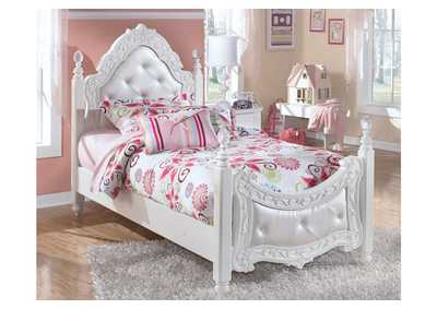 Image for Exquisite Twin Poster Bed