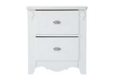 Exquisite Two Drawer Night Stand,Signature Design By Ashley