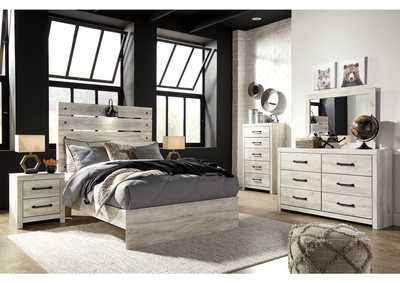 Cambeck Full Panel Bed w/Dresser and Mirror