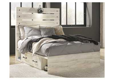 Cambeck Full Panel Bed with 4 Storage Drawers,Signature Design By Ashley