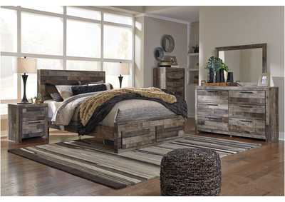 Image for Derekson Queen Platform Bed w/Dresser and Mirror