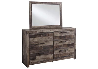 Derekson Bedroom Dresser and Mirror