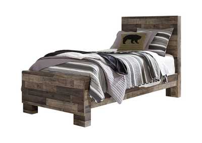 Derekson Twin Panel Bed