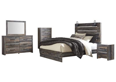 Image for Drystan Queen Panel Bed w/Dresser and Mirror