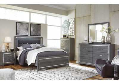 Lodanna King Panel Bed with Dresser and Mirror