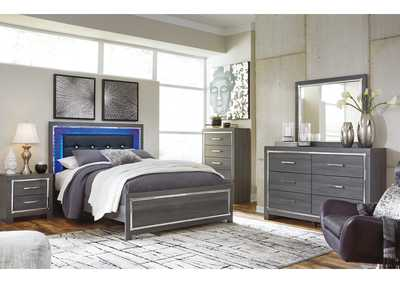Lodanna Gray Queen Panel Bed w/Dresser & Mirror,Signature Design By Ashley