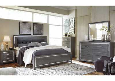 Lodanna Full Panel Bed with Dresser and Mirror