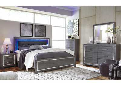 Lodanna Full Panel Bed with Dresser and Mirror,Signature Design By Ashley
