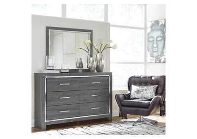 Lodanna Gray Dresser w/Mirror,Signature Design By Ashley