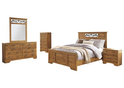 Image for Bittersweet Light Brown Queen Panel Bed w/Dresser & Mirror