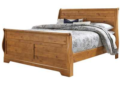 Image for Bittersweet Light Brown King Sleigh Bed