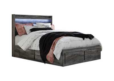 Image for Baystorm Queen Panel Bed with 6 Storage Drawers