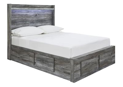 Image for Baystorm Gray Full Storage Bed