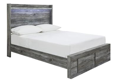 Image for Baystorm Gray Full Platform Storage Bed