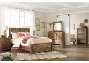 Image for Blaneville Brown Bedroom Dresser w/Mirror